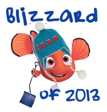 Nemo is wearing a Kate Spade hat.