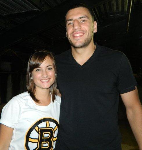 he's so tall!